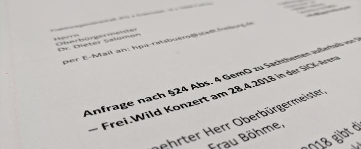 Frei.Wild Konzert am 28.04.2018 in der SICK-Arena